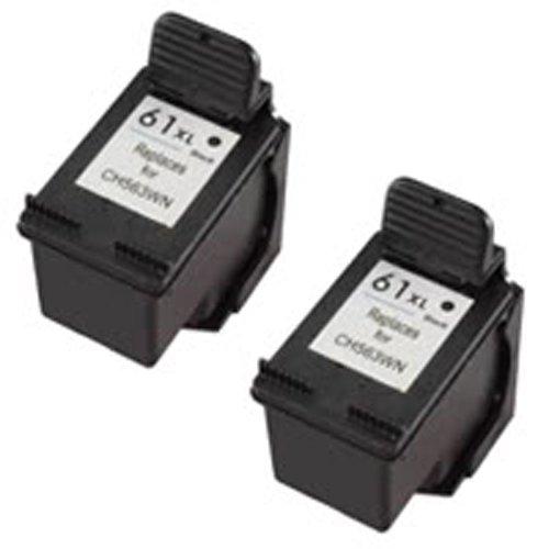 Amsahr 61XLBK(CH563WN) Remanufactured Replacement HP Ink ...