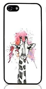Cute Giraffe Animal Hard Case for Apple iPhone 5/5S ( Sugar Skull )