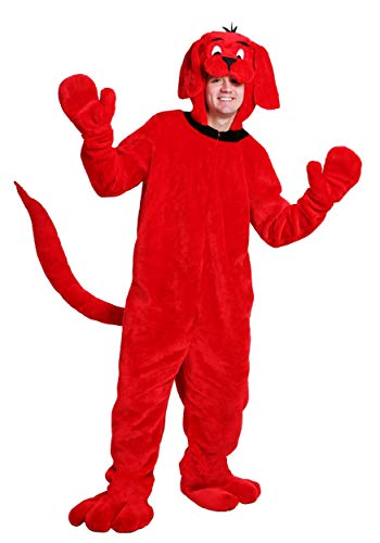 Clifford Big Red Dog Halloween Costumes (Clifford The Big Red Dog Adult Costume)