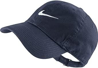 Nike Heritage 86-Swoosh Gorra de Tenis, Unisex, Azul-Azul, Blanco ...