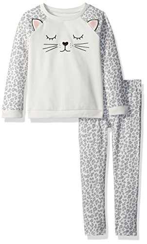 The Children's Place Baby Girls' Top and Leggings Set, Dovetail 85388, 4T