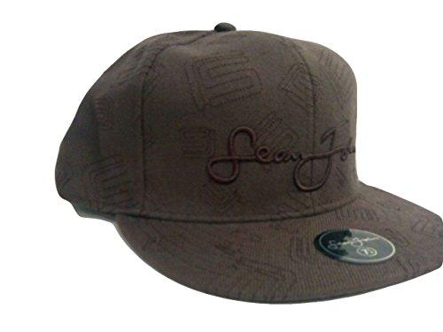 Sean John Men's Fitted Ball Cap Hat Brown 7.34