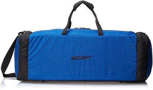 Wildcraft Sleek Large Polyester 81.3 cms Blue Softsided Travel Duffle (8903338002567) Large Luggage