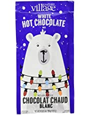 Gourmet du Village Hot Chocolate Mini, White Retro Polar Bear, 35g