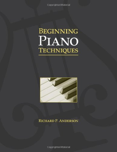 Beginning Piano Techniques by Brand: Waveland Press