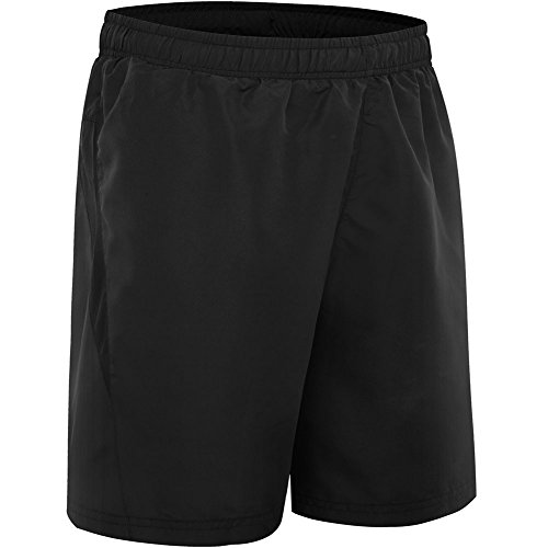 HSFEO+Mens+Swim+Trunks+Quick+Dry+Striped+Beach+Board+Shorts%2CBlack%2CLarge