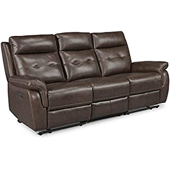 Terrific Homestyles By Flexsteel Lux Leather Power Motion Reclining Sofa Unemploymentrelief Wooden Chair Designs For Living Room Unemploymentrelieforg