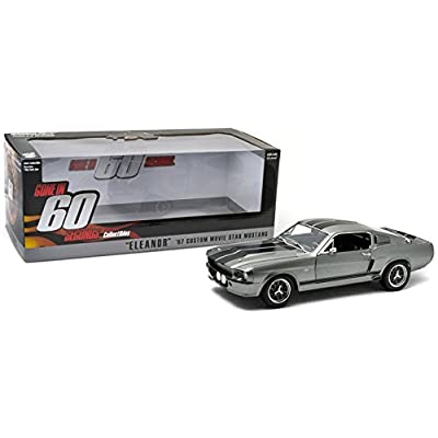 Greenlight Gone in 60 Seconds (2000) 1967 Ford Mustang Eleanor Vehicle (1:18 Scale): Toys & Games