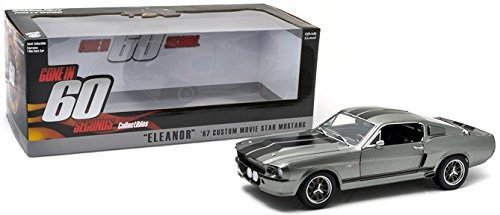Greenlight Gone in 60 Seconds (2000) 1967 Ford Mustang Eleanor Vehicle (1:18 Scale) from Greenlight