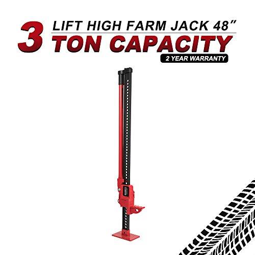 - BUNKER INDUST High Lift Farm Jack 48