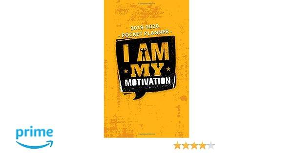 2019-2020 Pocket Planner I Am My Motivation: Nifty ...