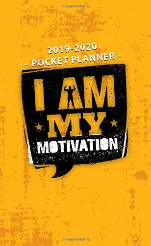 Amazon.com: 2019-2020 Pocket Planner I Am My Motivation ...