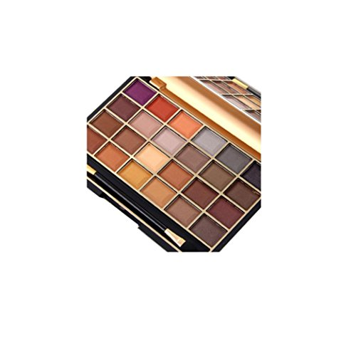 Urban Decay Mineral Makeup (MISS ROSE 24 Colors Cosmetic Eyeshadow Palettes Eye Beauty Makeup Plate by VESNIBA)