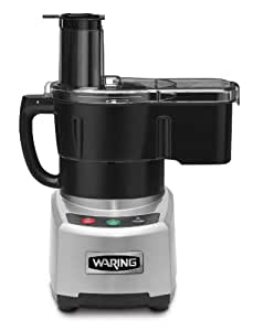 Waring Commercial WFP16SCD Sealed Batch Bowl/Continuous Dicing Food Processor with LiquiLock Seal System, 4-Quart