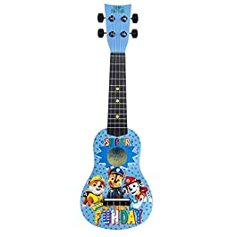 First Act Paw Patrol Toy Ukulele, 20 Inch – with Nylon Strings, Tuning Gears – Ukulele for Beginners, Musical…