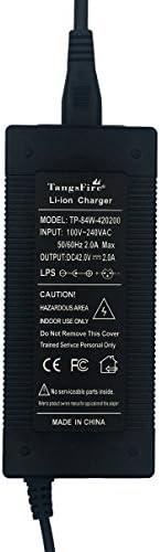 TangsFire 36V recharge trottinette électrique chargeur 42 V 2 A connecteur XLR mâle pour batterie