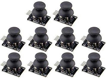 WMYCONGCONG Lot de 10 manettes de jeu pour Arduino PS2