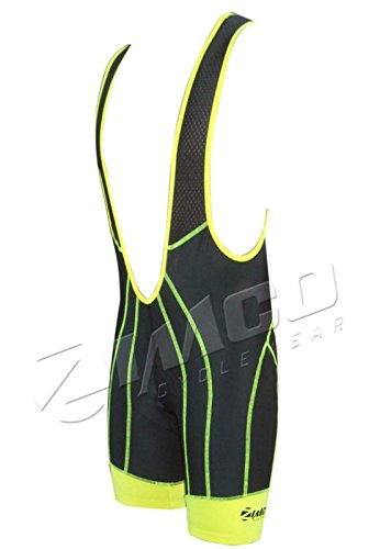 Zimco Cycling Bib Shorts Men Air Plus Bicycle Bibs Padded Racing Bike Shorts