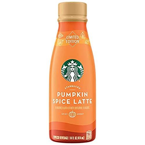 Starbucks Limited Edition Pumpkin Spice Latte, 14fl.oz. (Pack of 12)