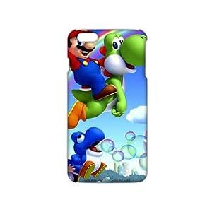2015 Ultra Thin Cartoon Super Mario 3D Phone Case for iPhone 6