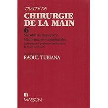 TRAITE DE CHIR. DE LA MAIN T6