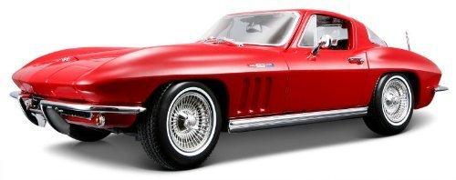 1965 Chevrolet Corvette [Maisto 31640], Rot, 1 18 Die Cast