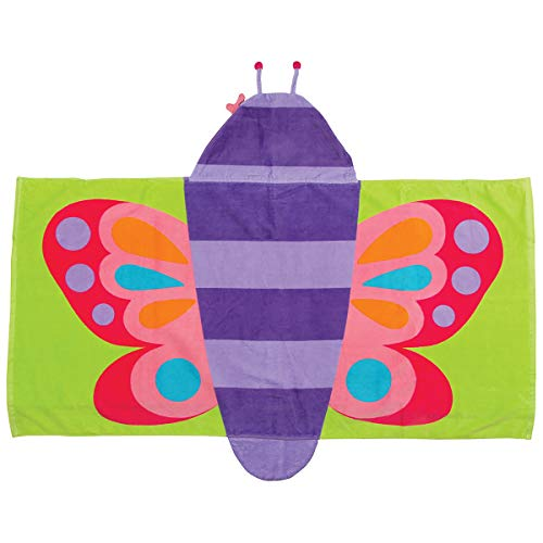 Stephen Joseph Hooded Towel, Butterfly (Themes In The Time Of The Butterflies)