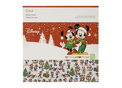 Cricut Deluxe Paper, Disney, Mickey Friends Holiday