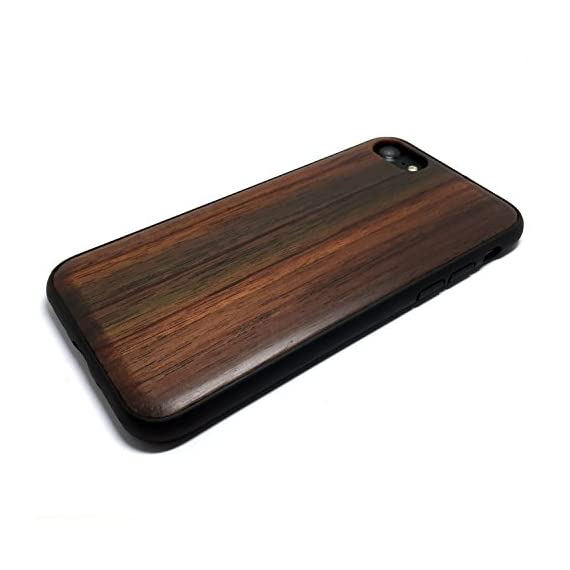 iPhone 7/iPhone 8 Case, iPhone 7 Wood case, BTHEONE Natural Genuine Wooden Case for iPhone 7 ?Real Wood Ultra Slim Hard… 3 √ Compatible with iPhone 7 (Not for iPhone7 Plus) √ Naturally wood different,each wood back has a unique grain and texture. √ Specially designed for iPhone 7, has precise design for speakers, charging ports, audio ports and buttons.