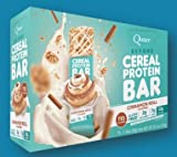 Quest Nutrition Beyond Cereal Protein Bar, Cinnamon Roll, 12g Protein, 2g Net Carbs, 110 Cals, Low Carb, Gluten Free, Soy Free, 1.34oz Bar, 15 Count