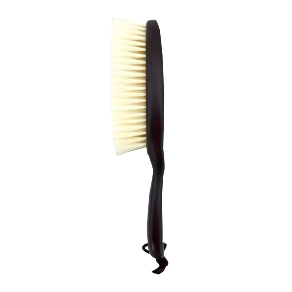 MATSUDAEI Co.,Ltd. Professional Clothes Brush & Lint Remover with Genuine Pig Hair & Wood Handle, Made in Japan