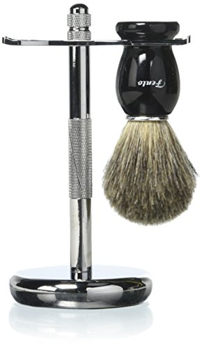 Fento Badger Shaving Brush Chrome product image
