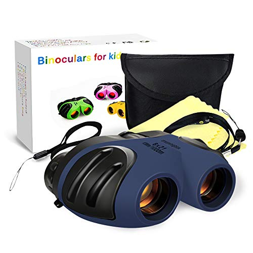Gift for 3-12 Year Old Boys, TOP Gift Compact Binoculars for Kids Teen Girls 2019 New Gifts Toys for 3-12 Year Old Girls Boys Gifts for 3-12 Years Old Girls Stocking Fillers Blue TGUS011