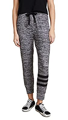 Sundry Women's Burnout Sweater Knit Jogger Pants
