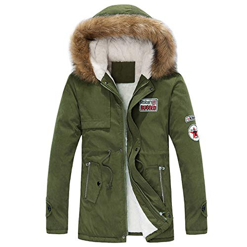Vert Chaud Occasionnel Mode Blouson Grande Homme Hiver s Femme xxxxxl Manteau Taille Pullover Tops Osyard wZxqg6pX