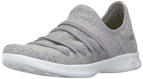 Step da chiaro Donne Lite Go scarpe Skechers ginnastica grigio ridefinisce wqxOpna