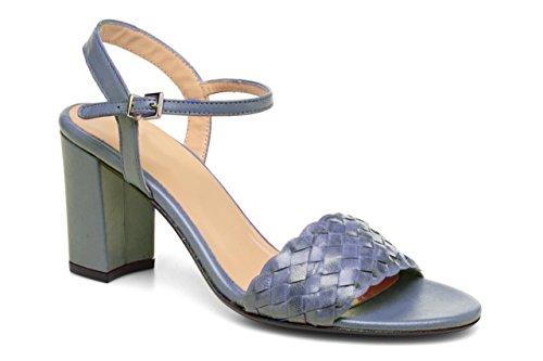 11sunshop - Sandalias de Vestir de Otra Piel Mujer gris