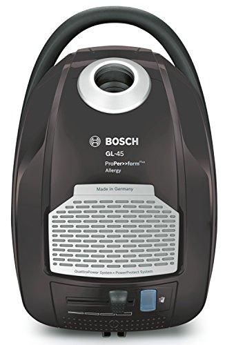 Bosch BGL45500 Aspirateur traineaux avec Sac Taupe 750 W