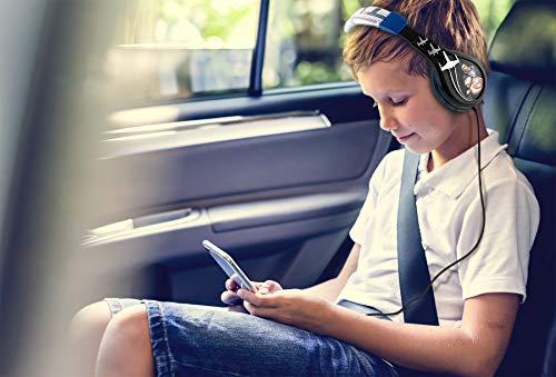 Star Wars Ep 9 Kids Headphones, Adjustable Headband, Stereo Sound, 3.5Mm Jack, Wired Headphones for  - coolthings.us