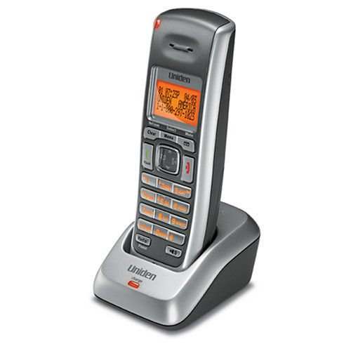 Uniden DCX200 DECT 6.0 Accessory Handset and Charging Cradle for the DECT2000/DECT 3000 Series Phones - Silver (Telephone Series 3000)