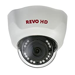 REVO America RCHD24-1 1080p HD Direct IP Indoor Dome Camera (White)