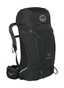 Osprey Packs Kestrel 48 Backpack, Ash Grey, Small/Medium