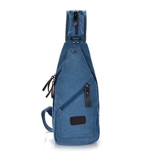 Bandoulière Imperméable En Zippé Couleur Toile À color Weatly Kaki Rétro Black Simple Blue Sac R6YEqA