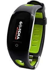 Datel Go-Tcha Evolve LED Touch Smartwatch for Pokemon Go Auto Catch Collecting Item with Time Clock Pedometer Function - Green