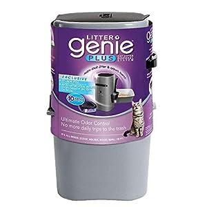 Litter Genie Plus Pail Silver 25