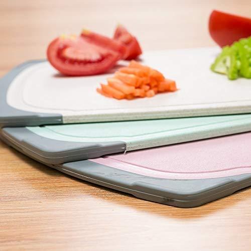 riso nordico LSGDSXMIY Biadesivo tagliere da cucina tagliere rettangolare plastica antibatterico per la casa salute sterile integratore alimentare tavola fumante tagliere di plastica, cavolo
