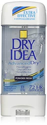Dry Idea Gel Pwd Frsh Size 3z Dry Idea Powder Fresh Clear Gel Anti-Perspirant Deodorant 3oz