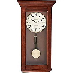 Howard Miller Continental Wall Clock 625-468 - Wooden with Quartz & Single Chime Movement