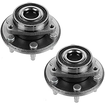 Note: AWD 4-Wheel ABS One Bearing Included with Two Years Warranty 1997 fits GMC Safari Front Wheel Bearing and Hub Assembly