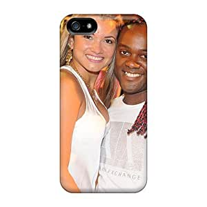 New Fashion Premium Case Cover For Iphone 5/5s - The Football Player Of Shandong Luneng Vagner With His Girlfriend